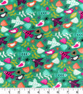 Snuggle Flannel Fabric 42\u0022-Soaring Birds