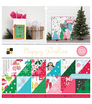 "DCWV 12""x12"" Premium Stack-Happy Wishes, , hi-res"