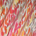 Kelly Ripa Home Outdoor Fabric-Make It Rain Coral