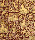 Home Decor 8\u0022x8\u0022 Fabric Swatch-Upholstery Fabric Barrow M5178-5456 Tawny