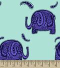 Patterned Elephant Print Fabric
