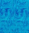 Anti-Pill Plush Fleece Fabric-Blue Marble