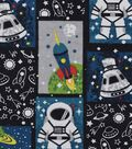 Snuggle Flannel Fabric -Astronaut