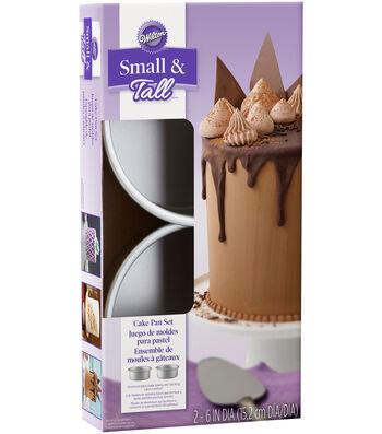 Wilton Small & Tall Layered Cake Pan Set