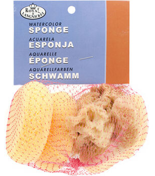 Watercolor Sponges 6 count Multipack of 10