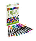 Crayola Fine Line Marker Set 12/Pkg-Contemporary