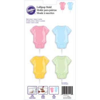 Wilton Lollipop Mold-Baby Tee 4 Cavity