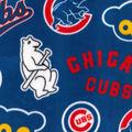 Chicago Cubs Fleece Fabric-Cooperstown