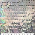 Let\u0027s Pretend Large Sequin Mesh Fabric-Large Sequin Mesh Holographic