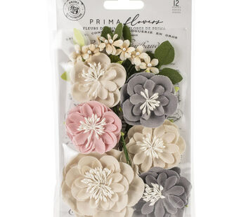 Prima Marketing Fabric Flowers -Simple Things/Spring Farmhouse
