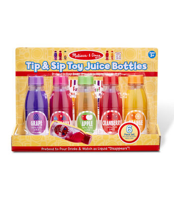 Melissa & Doug Tip  Sip Toy Juice Bottles