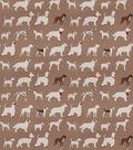 Eaton Square Lightweight Decor Fabric 54\u0022-Downpour/Brown
