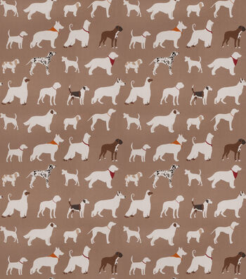 "Eaton Square Lightweight Decor Fabric 54""-Downpour/Brown"