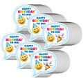 Creative Teaching Press Emoji Fun Birthday Badge, 36 Per Pack, 6 Packs