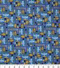 Hanukkah Cotton Fabric-Hanukkah Patchwork