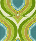 HGTV Home Lightweight Decor Fabric-Groove Move/Turquoise