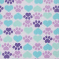 Blizzard Fleece Fabric-Cool Cat Paws