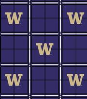 "University of Washington Huskies Flannel Fabric 42""-Plaid, , hi-res"