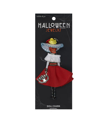 hildie & jo Halloween Doll Pendant-Day Of The Dead Elena