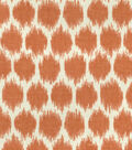 Waverly Upholstery Fabric 54\u0027\u0027-Persimmon Seeing Spots