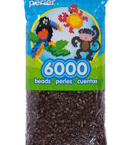Perler 6000 Count Bead Bag-Brown, , hi-res