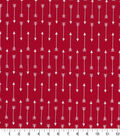Quilter\u0027s Showcase Cotton Fabric -Arrows on Red