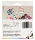 American Crafts Hello Dreamer 2 pk Adhesive Patches
