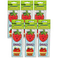 Strawberry Scented Bookmarks, 24 Per Pack, 6 Packs