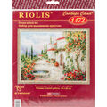 RIOLIS 15.75\u0027\u0027x11.75\u0027\u0027 Counted Cross Stitch Kit-At The Fountain