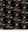 Baltimore Ravens Cotton Fabric -Logo
