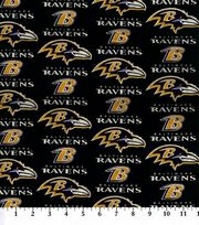 Baltimore Ravens Cotton Fabric -Logo, , hi-res