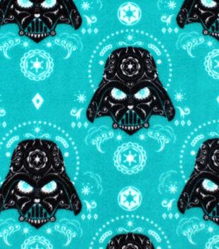 Star Wars Darth Vader Fleece Fabric 58''-Sugar Skulls