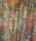 Home Decor 8\u0022x8\u0022 Fabric Swatch-Waverly Pradesh Palace Masala