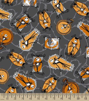 Holiday Inspirations Fabric Nightmare Before  Christmas Framed Jack