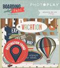 Photo Play Paper Ephemera Cardstock Die-Cuts-Boarding Pass