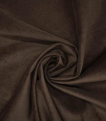 Sportswear Stretch Corduroy Fabric -Brown