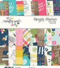 Simple Stories Crafty Girl 24 Sheets 6\u0027\u0027x8\u0027\u0027 Double-sided Paper Pad
