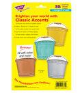 Trend Enterprises, Inc. Buckets Classic Accents, 36 Per Pack, 3 Packs