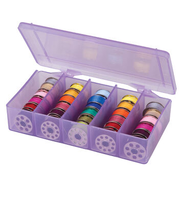 Artbin Purple Bobbin Box