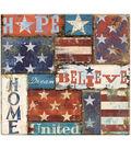MBI 12\u0027\u0027x12\u0027\u0027 Post Bound Scrapbook Album-American Patch