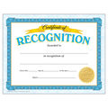 Certificate of Recognition Classic Certificates, 30 Per Pack, 6 Packs