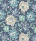 Keepsake Calico Cotton Fabric 44\u0022-Matilda Teal