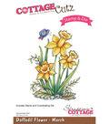 CottageCutz Stamp & Die Set-Daffodil-March