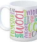 K1C2 11 oz. Lingo Mug-Fiber Lovers