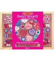 Melissa & Doug Sweet Hearts Bead Set, , hi-res