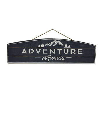 Camp Ann Wall Decor-Adventure Awaits