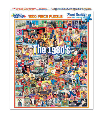 White Mountain Puzzles Jigsaw Puzzle The Eighties