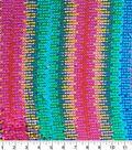 Glitterbug Reversible Sequins Fabric-Rainbow