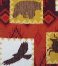 Anti-Pill Fleece Fabric 59\u0022-Wilderness Patch
