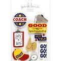 Park Lane 11 pk 3D Stickers-Coach